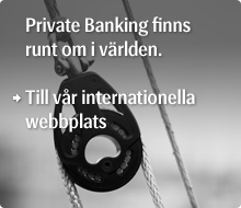 Till Private Bankings internationella webbplats